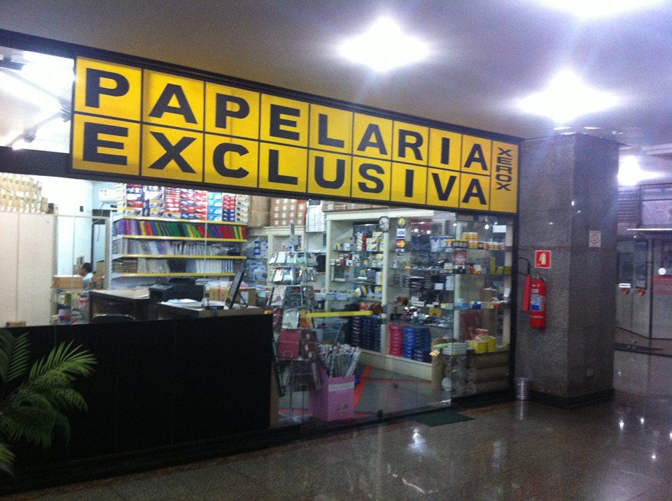 Fachada Papelaria Exclusiva