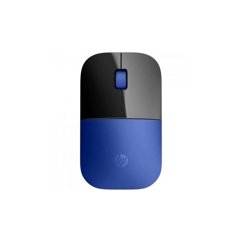 Mouse sem Fio USB 1200dpi Z3700 Preto/Azul HP