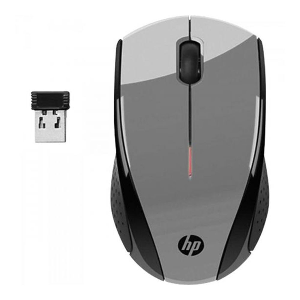 Mouse sem Fio USB 1600dpi X3000 Cinza HP